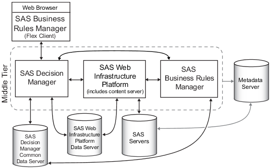 The Sas Intelligence Platform And Sas Business Rules Manager    Sas R  Business Rules Manager 2