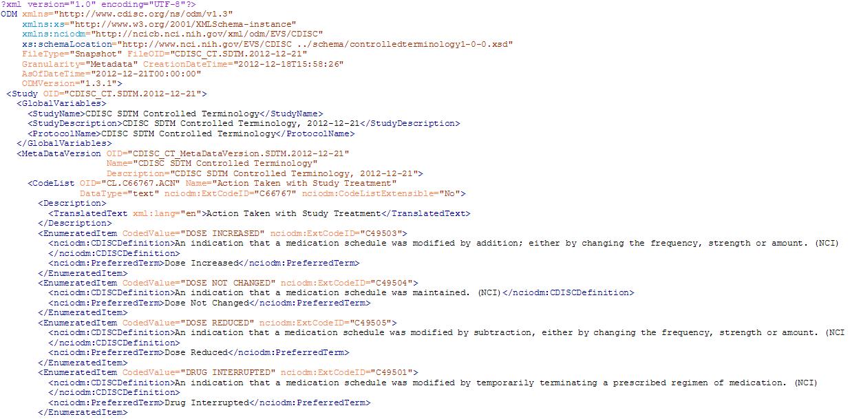 dummy xml file