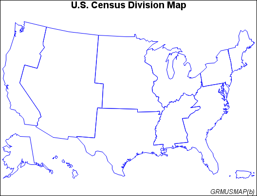 Removing State Boundaries from U.S. Map :: SAS/GRAPH(R) 9.3 ...