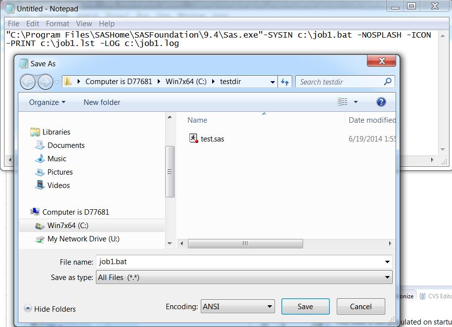Starting Sas Sas 94 Companion For Windows Fifth Edition