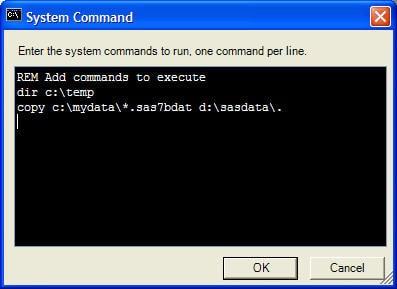 system command window