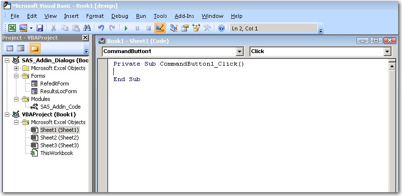40982 - Creating a button to refresh content in the SAS® Add-In for ...