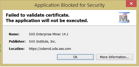 java.security.cert.certificateexception found unsigned entry in resource