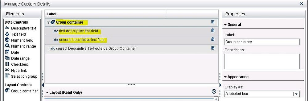 58823 after you define descriptive text fields in sas customer