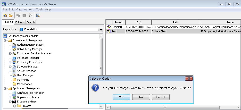 59677 how to share existing sas enterprise miner tm projects