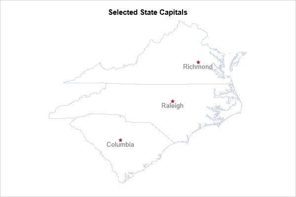 Selected State Capitals