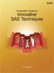 Carpenter's Guide to Innovative SAS Techniques book cover