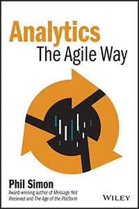 Analytics: The Agile Way  book cover