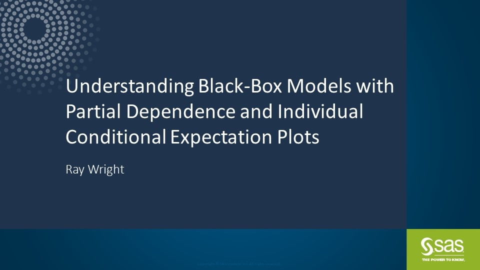 Understanding Black-Box Models with Partial Dependence and Individual Conditional Expectation Plots