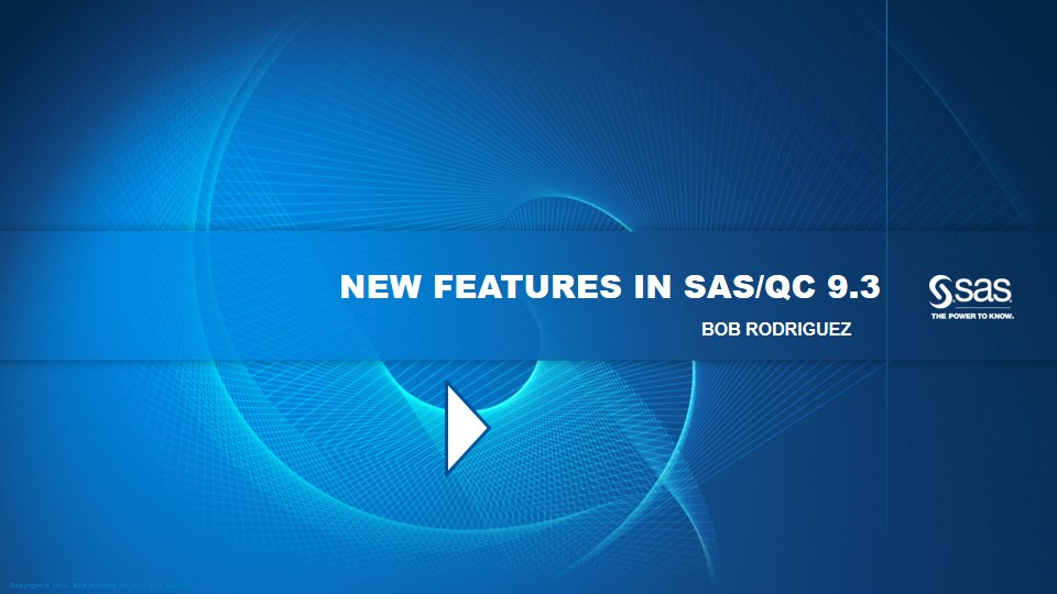 New Features in SAS/QC 9.3
