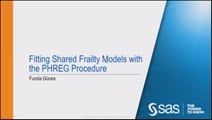 Fitting Frailty Models with the PHREG Procedure
