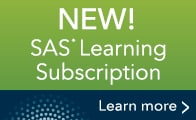 SAS Learning Subscription