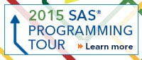 SAS Programming Tour