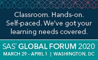 SAS Global Forum