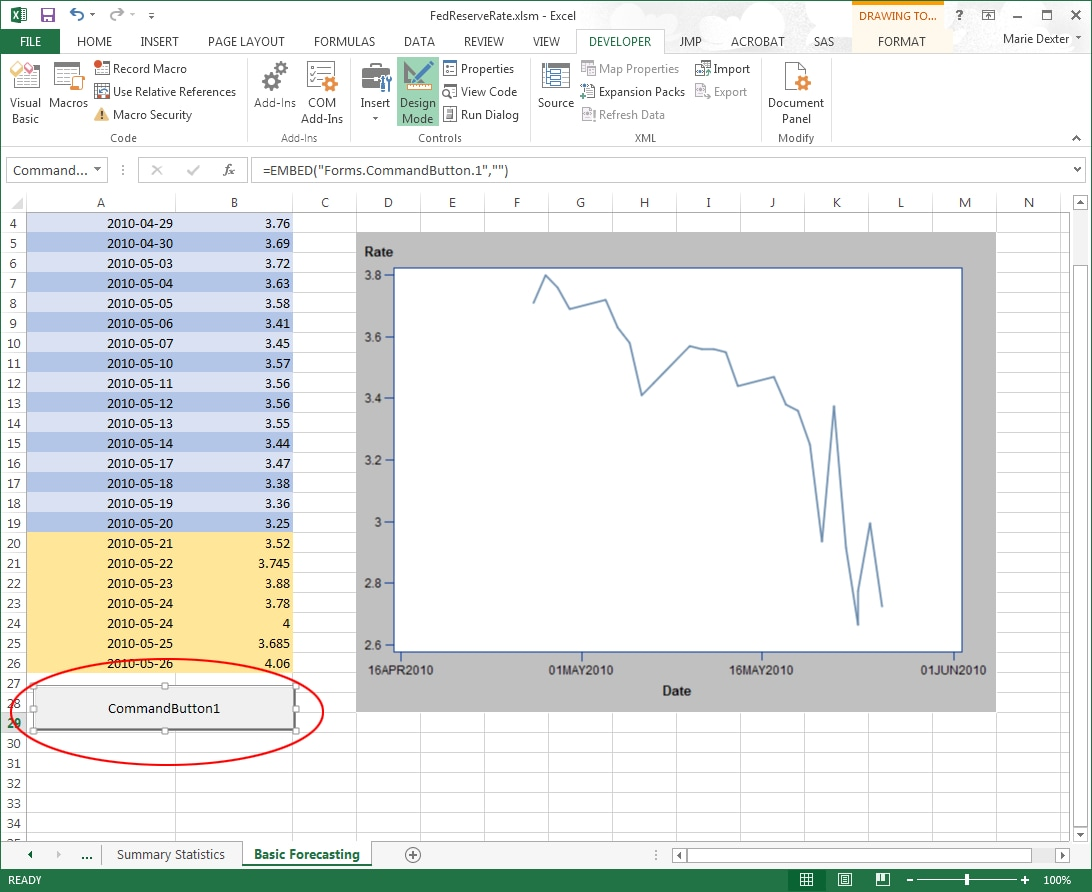 show excel with activex in html iframe