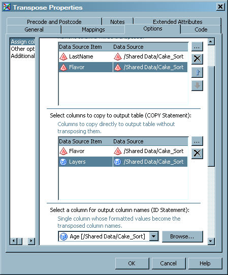 Creating Transposed Data from Table Data :: SAS(R) Data