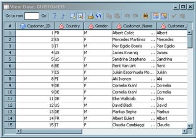 Editing SAS Table Data :: SAS(R) Data Integration Studio 4 9: User's