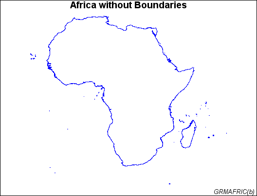 Creating An Outline Map Of Africa Sas Graph R 9 3 Reference