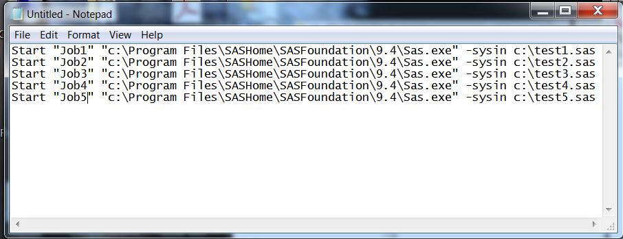Starting SAS :: SAS® 9 4 Companion for Windows, Fifth Edition