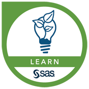 SAS Learn Badges