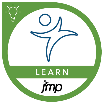 Learn JMP Badges