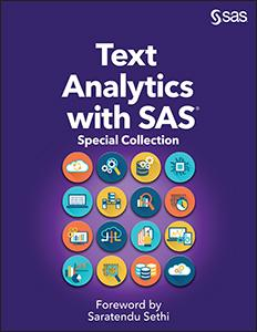 Text Analytics with SAS®: Special Collection
