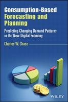 Consumption-Based Forecasting and Planning: Predicting Changing Demand Patterns in the New Digital Economy