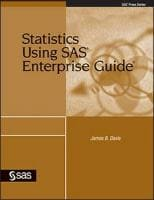 Statistics Using SAS® Enterprise Guide®