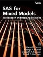 SAS for Mixed Models: An Introduction