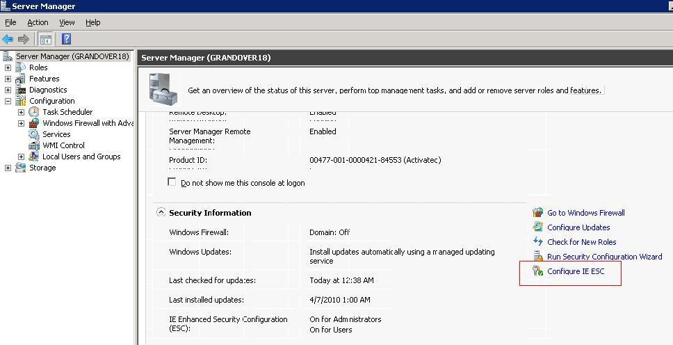39502 - How to configure Microsoft Internet Explorer for