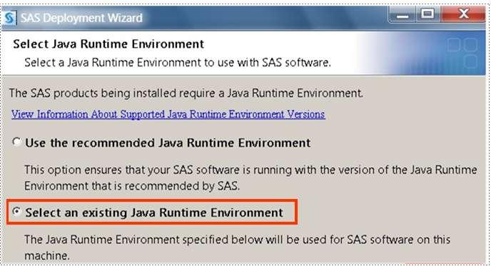 40501 - SAS® 9 2 requires JRE 1 6 0_14 32-bit on Microsoft Windows 7