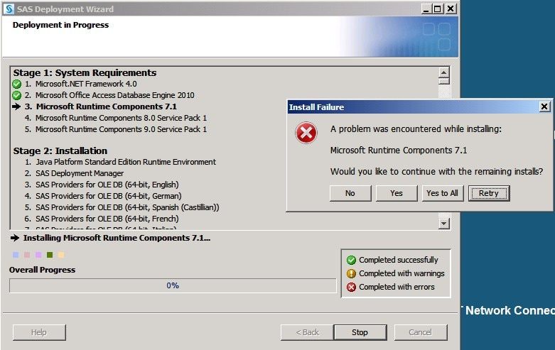 Instructions for downloading microsoft access runtime.