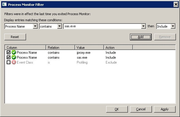 49308 - SAS® Management Console is slow to launch the first time