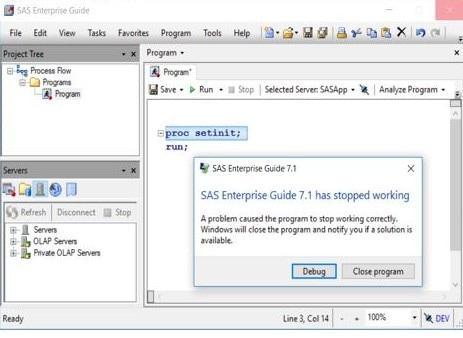 61144 - SAS® Enterprise Guide® might crash when you autoselect a