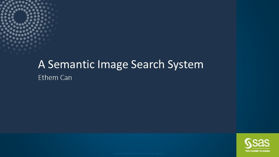 A Semantic Image Search System