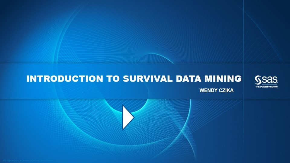 Introduction to Survival Data Mining