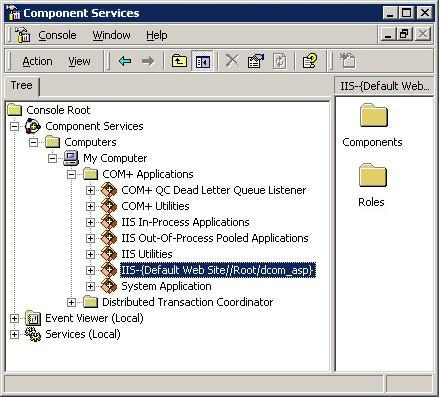 Accessing a Remote DCOM IOM Server from an Active Server Page