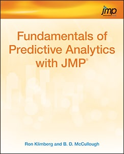 Fundamentals of Predictive Analytics with JMP book cover