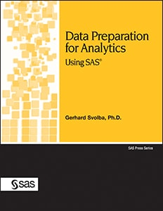 Data Preparation for Analytics Using SAS book cover