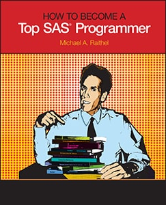 How to Become a Top SAS Programmer book cover