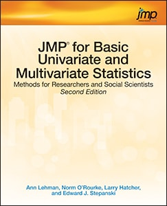 JMP for Basic Univariate and Multivariate Statistics: Methods for Researchers and Social Scientists, Second Edition book cover