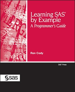 Learning SAS Example: A Programmer's Guide book cover