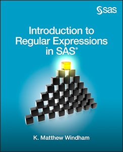 Introduction to Regular Expressions in SAS book cover