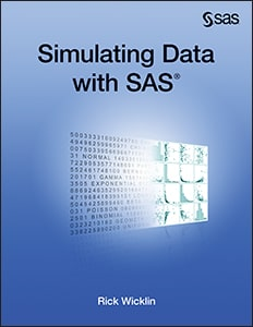 Simulating Data with SAS book cover