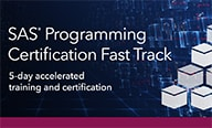 SAS Programming Certification Fast Track