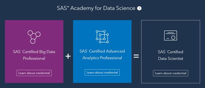 SAS Training - Data Scientist path